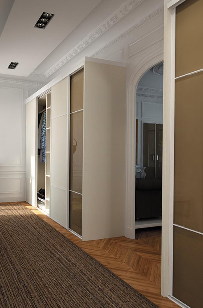 Rangement et portes coulissantes