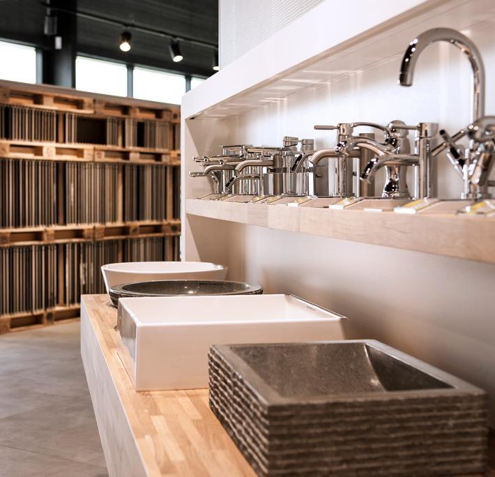 Robinetterie et vasques